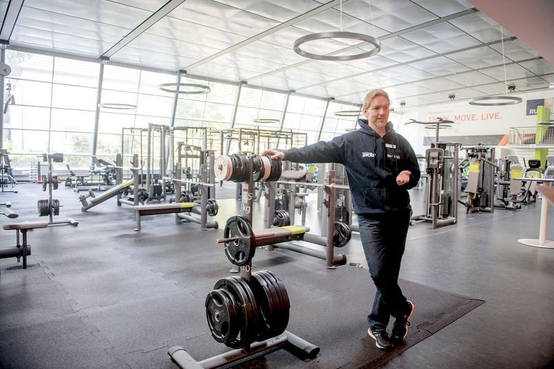 Unifit-Leiter Stefan Bertling