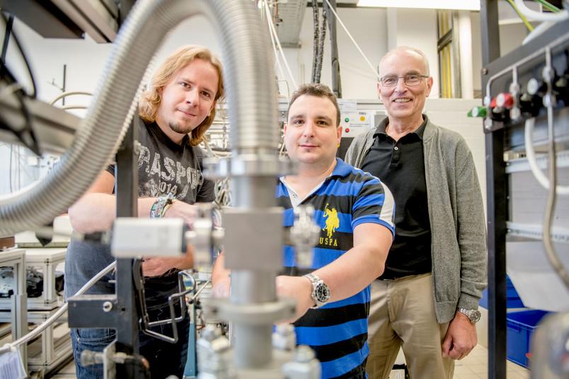 Tobias Thomanek, Enrique Mendez Vega und Wolfram Sander