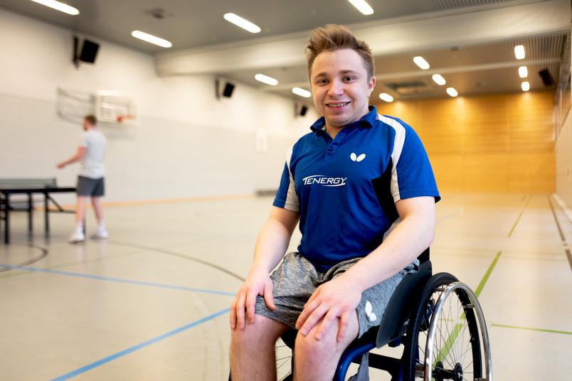 <div> Valentin Baus ist Welt- und Europameister und hat bei den Paralympics in Rio de Janeiro Silber gewonnen.</div>