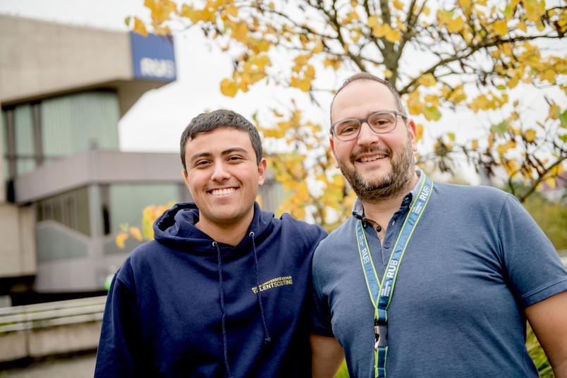 <div> Koray Kiliçaslan und sein Talentscout Theo Markakidis verbringen eine Woche gemeinsam auf dem Campus.</div>