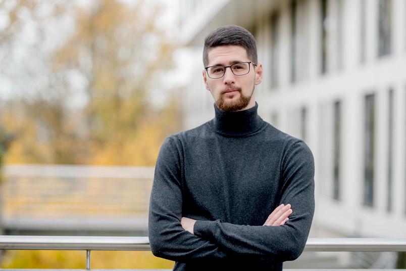 Porträt Student