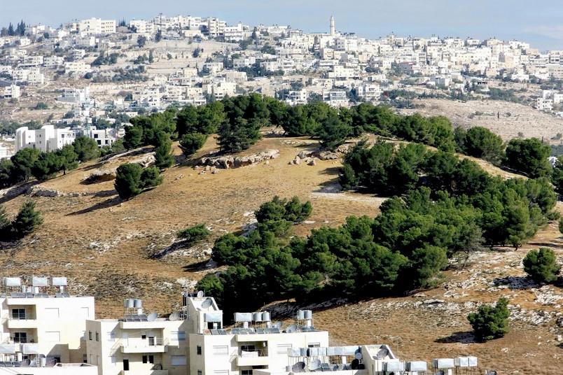 Hirtenfelder vor dem heutigen Bethlehem
