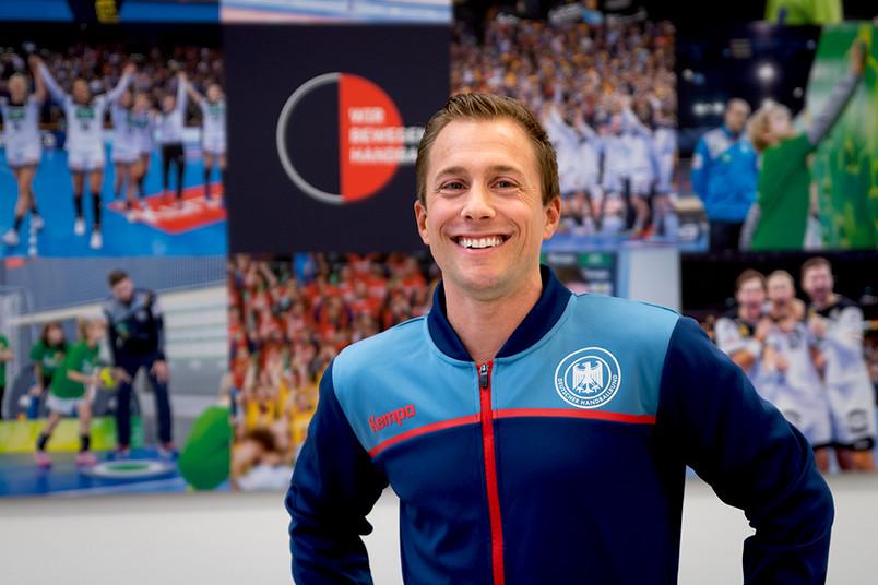 Porträt von Patrick Luig vom Deutschen Handballbund