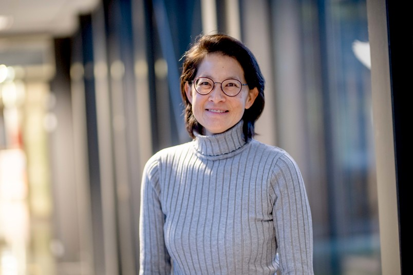Porträt der Biologin Melanie D. Mark