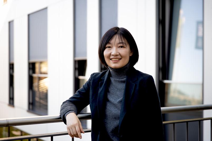 Porträt von Materialwissenschaftlerin Tong Li