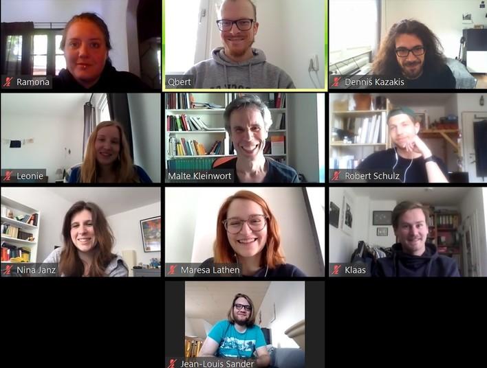 <div> Nina Janz und Malte Kleinwort unterstützen mit ihrem Team Lehrende und Studierende der Philologie bei Fragen zur Online-Lehre.</div>