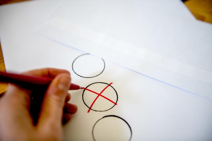 Symbolbild für Briefwahl an der RUB