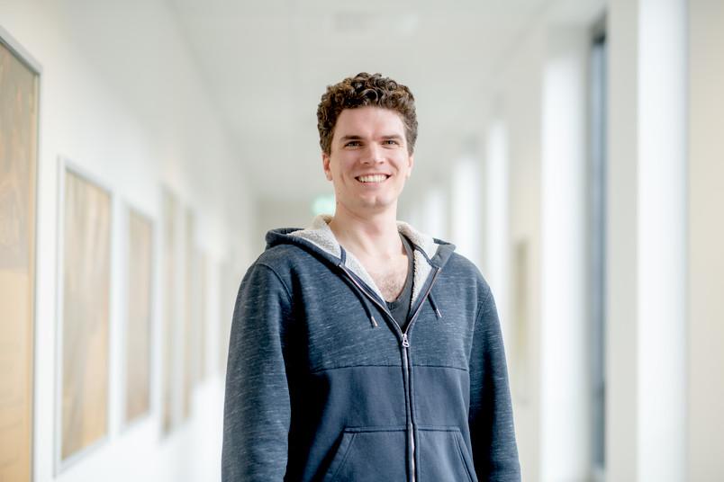 Porträt von einem Studenten