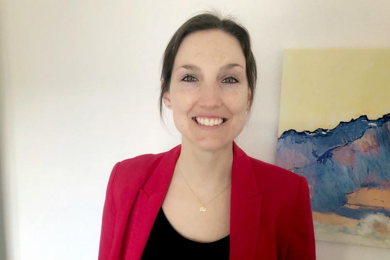 Porträt der Doktorandin Friederike Pfister
