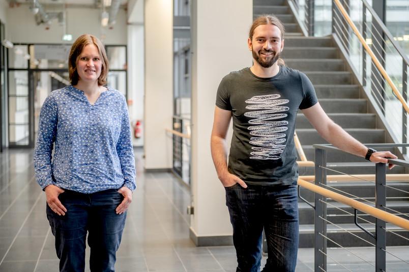 <div> Maike Buchin und Steffen Bondorf werden die neuen Studierenden im Studiengang Informatik unterrichten.</div>