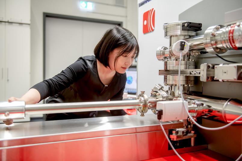 <div> Tong Li ist Expertin für Atomsondentomografie.</div>