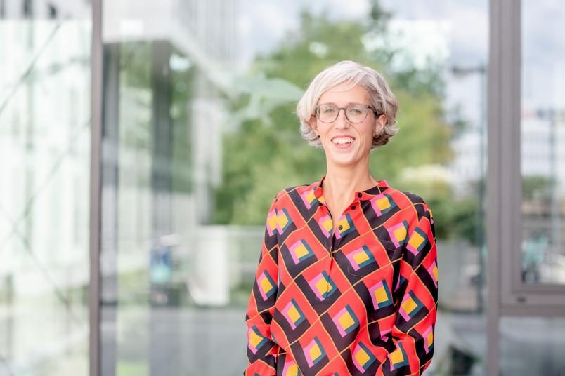 Porträt der Kunsthistorikerin Stephanie Marchal