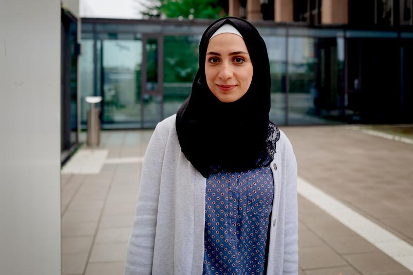 Die Studentin Rawan Kastali