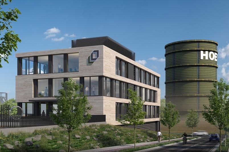 Visualisierung des Firmensitzes von Opländer in Dortmund