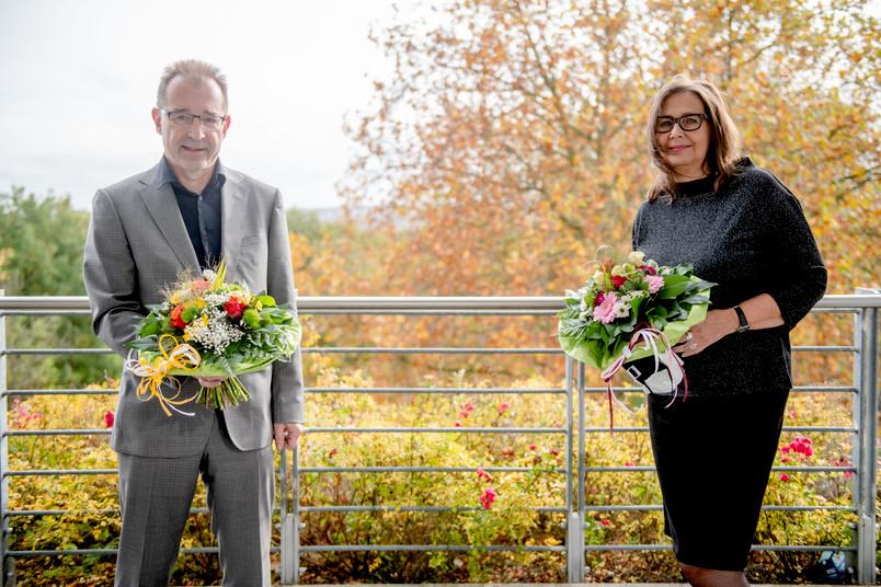 Jörg Bogumil und Marita Schmeink
