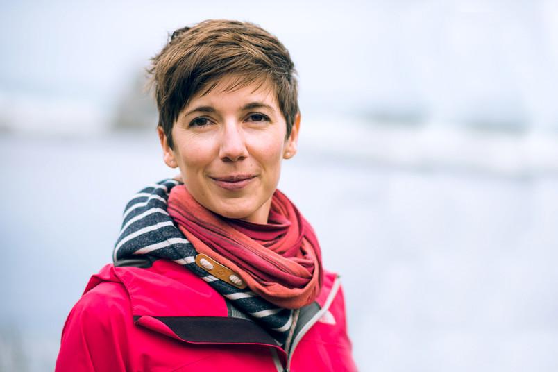 Die Physikerin Anna Franckowiak