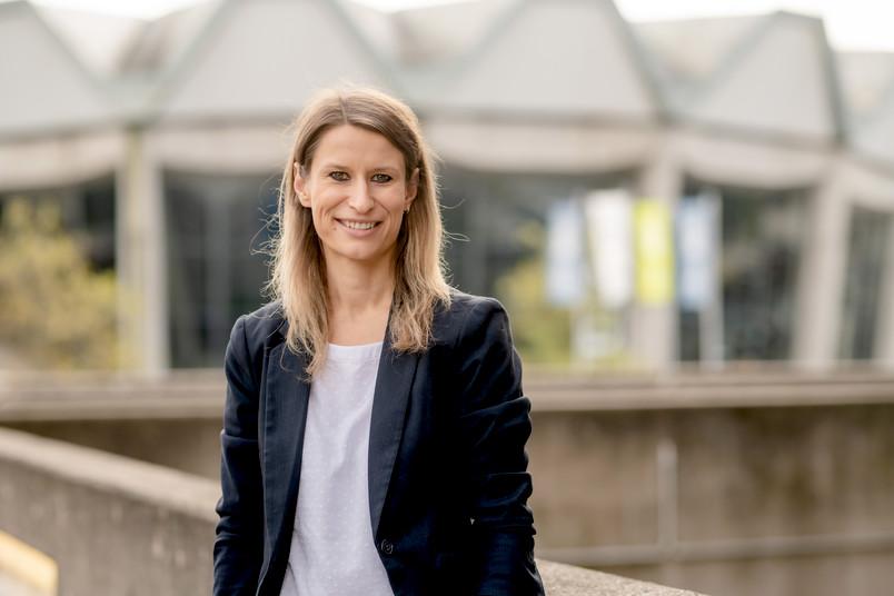 Porträt der Forscherin Nicole Nikiforow