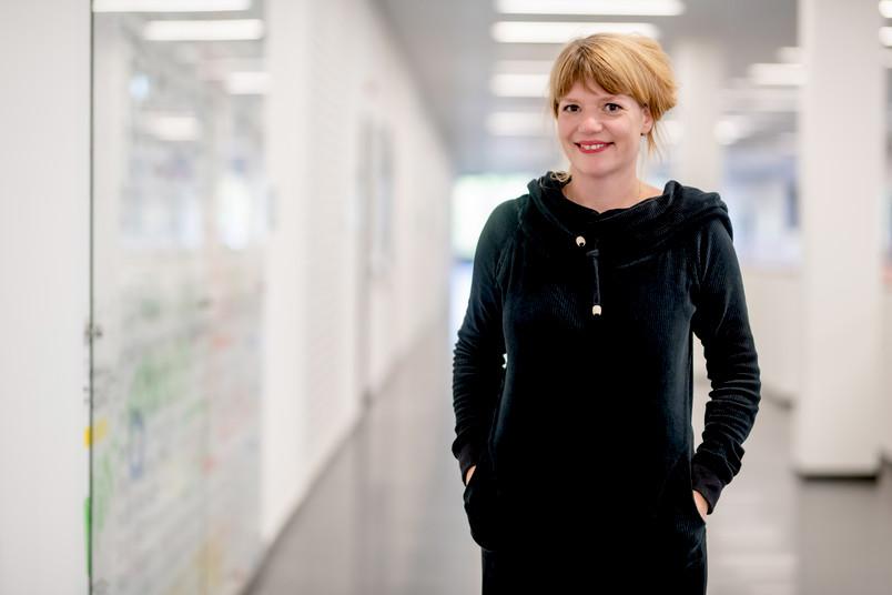 Die Forscherin Katharina van Elten