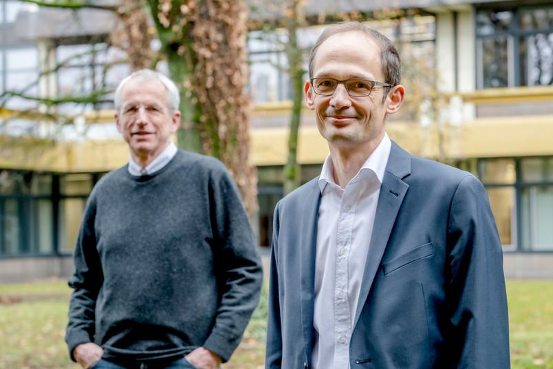 Prof. Dr. Sebastian Susteck und  Prof. Dr. Herold Dehling