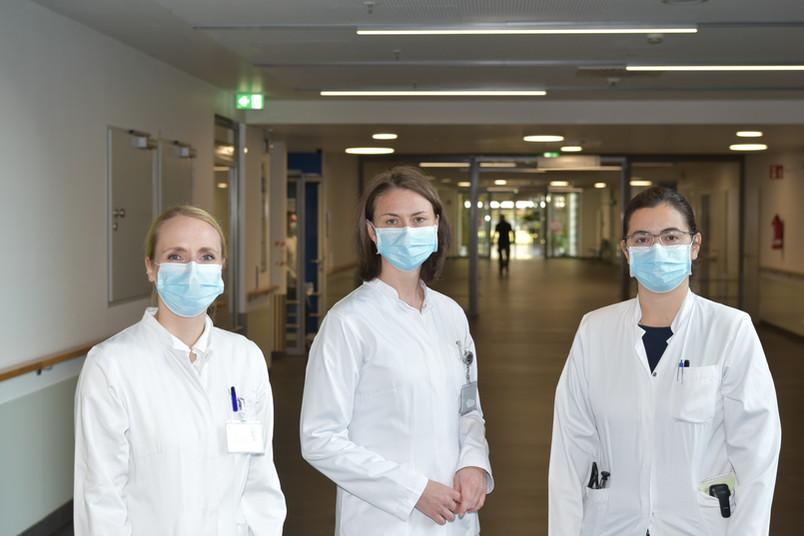 Die Initiatorinnen Christiane Kruppa, Christine Meyer-Frießem und Elena Enax-Krumova (von links) leiten das neue Mentroring-Programm.