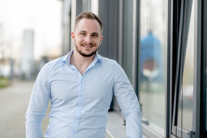 Georgios Gaganelis arbeitet am Lehrstuhl für Massivbau