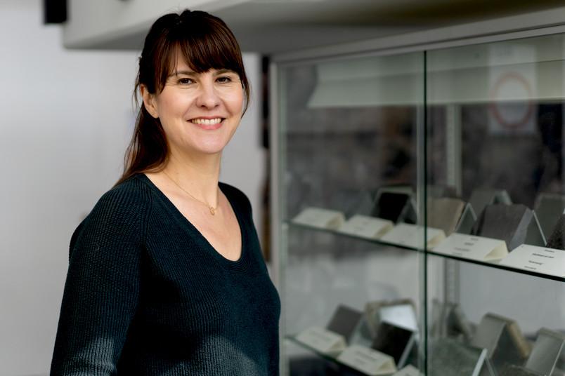 Geowissenschaftlerin Rebecca Harrington