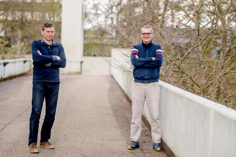Porträt von Dirk Jancke und Stefan Herlitze