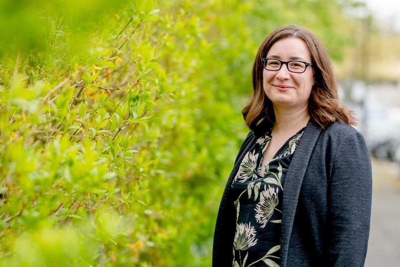 <div> Jacqueline Reinhard forscht am Lehrstuhl für Zellmorphologie und Molekulare Neurobiologie.</div>
