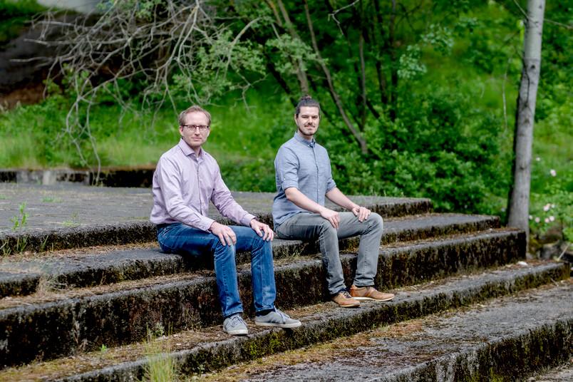 Thorsten Müller und David Marks