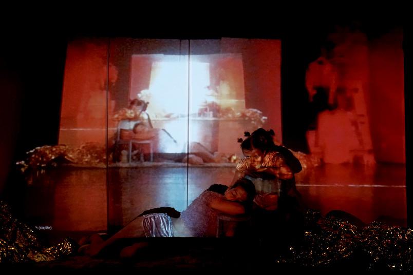 Szene aus einer Performance