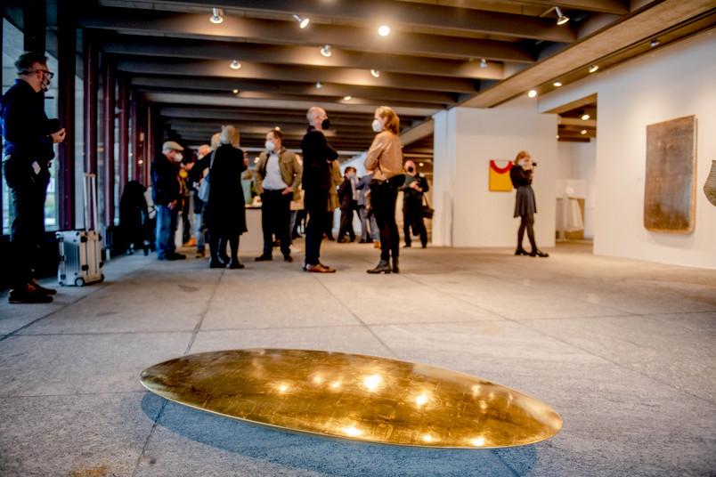 In den RUB-Kunstsammlungen, neue Bodenplatte