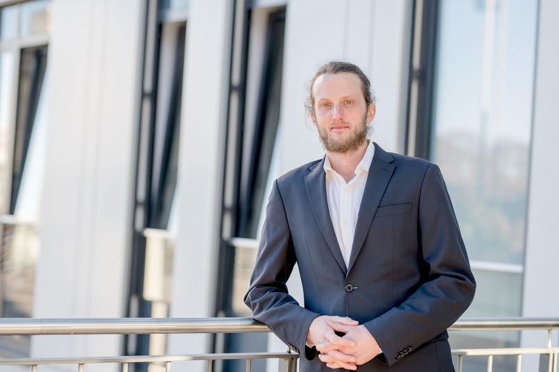 Porträt Benjamin Bechtel, Professor für Stadtklimatologie