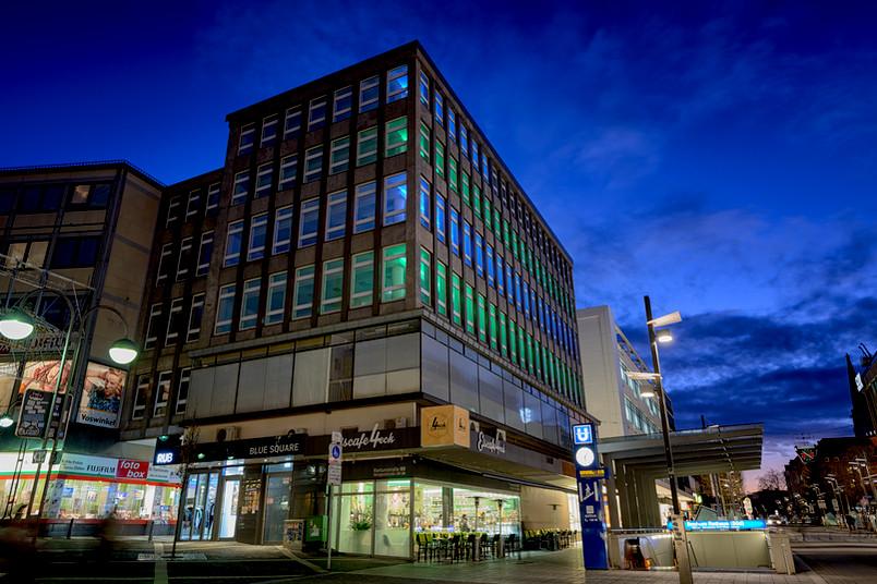 Das Blue Square in der Bochumer Innenstadt