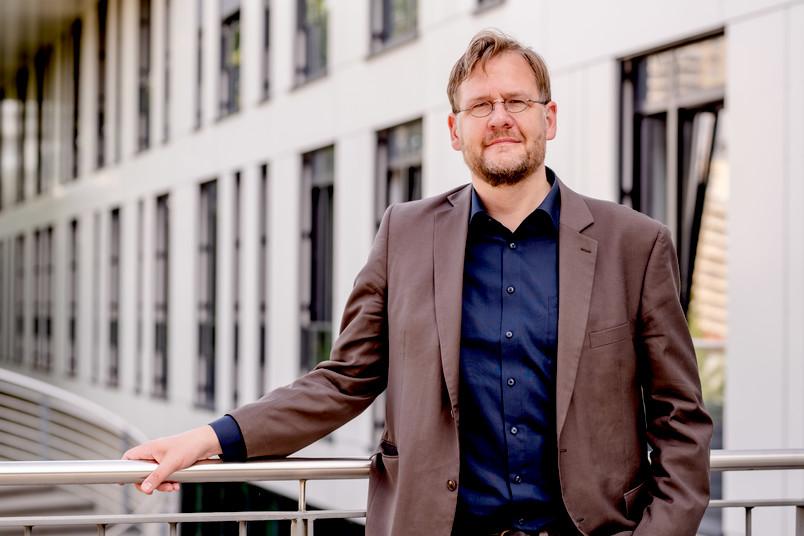 Porträtfoto des RUB-Althistorikers Henning Börm