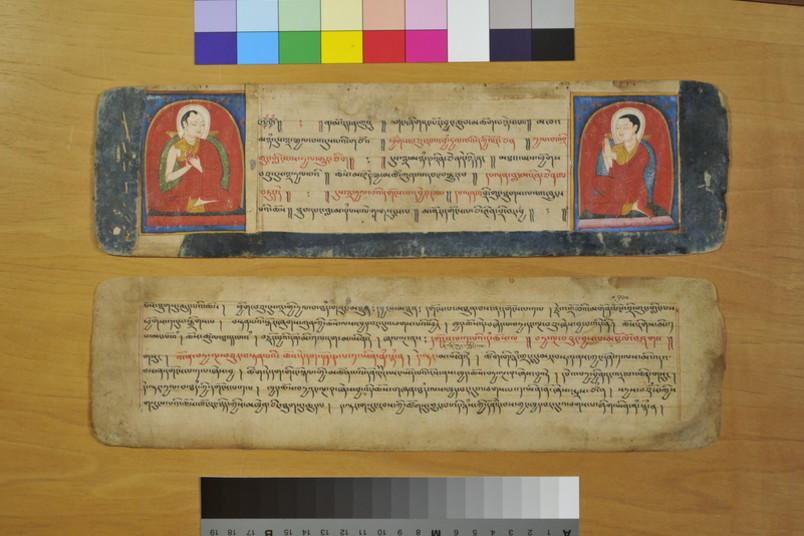 Buchseite Manuskript