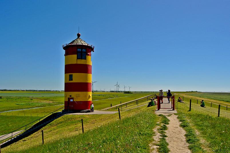 Leuchtturm in Pilsum.