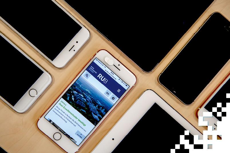 Handys und Tablets