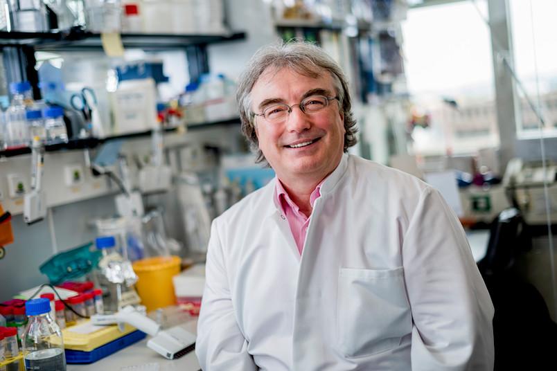 <div> Prof. Dr. Ralf Erdmann forscht am Institut für Biochemie und Pathobiochemie der RUB.</div>