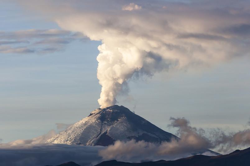 <div> Schön und gefährlich zugleich – der Cotopaxi, einer von 29 aktiven Vulkanen in Ecuador</div>