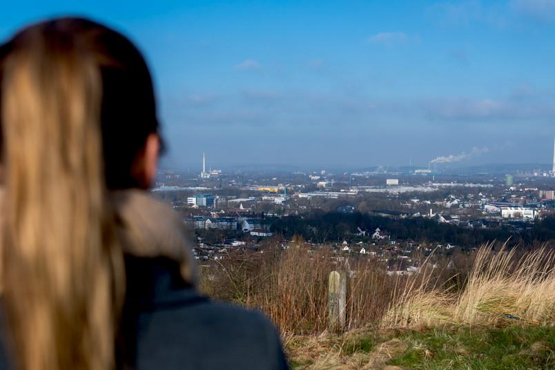 Blick auf Bochum