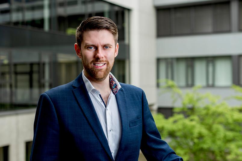Plasmaforscher Andrew Gibson