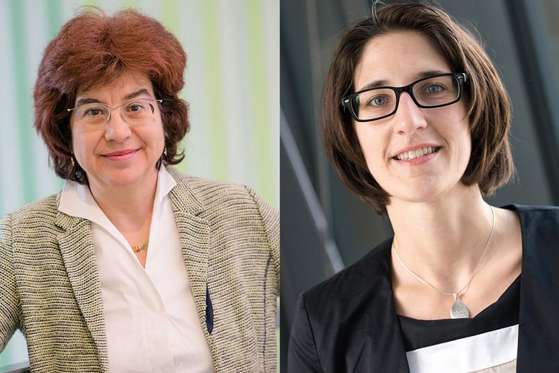 Martina Havenith und Viktoria Däschlein-Gessner