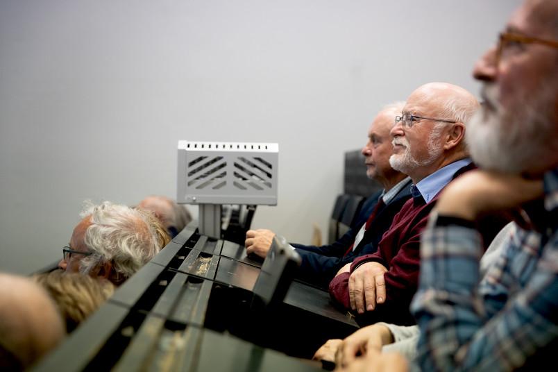 Senioren im Hörsaal