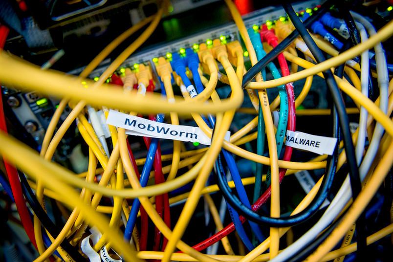 Das Projekt Mobworm drehte sich rund um die Sicherheit mobiler Geräte.