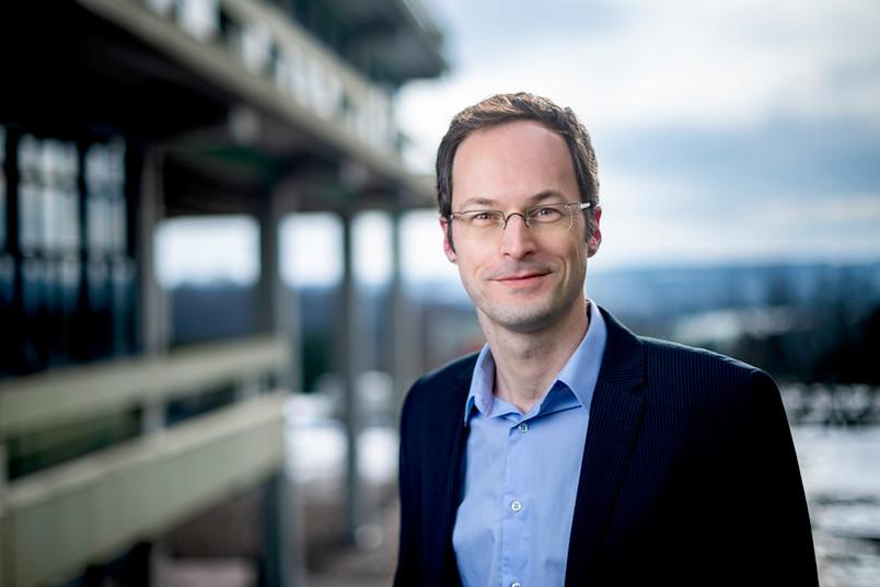 Chemiker Stefan Huber