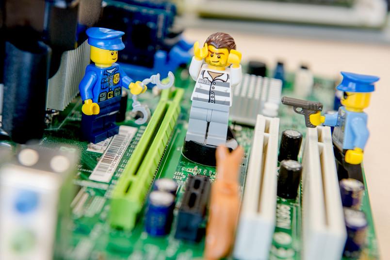 Legomännchen im Rechner