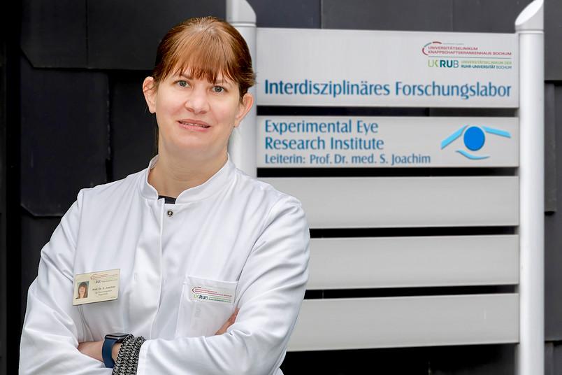 Die Medizinerin Stephanie Joachim