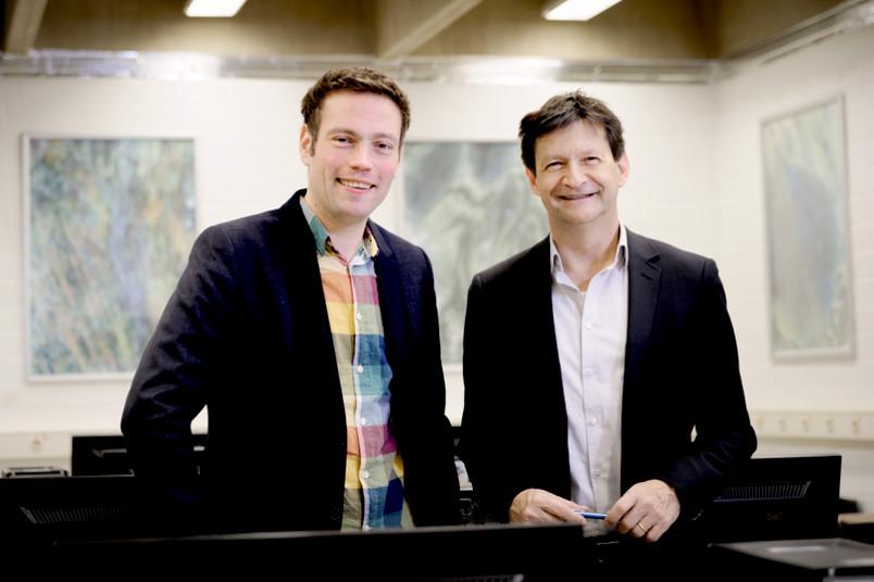 Dennis Edler und Frank Dickmann