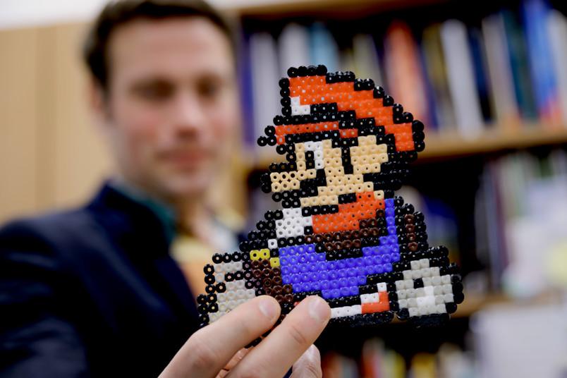 Bügelperlenbild Super Mario