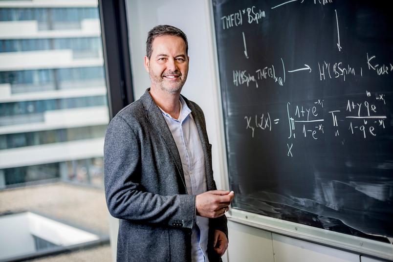 Porträt von Mathematiker Gerd Laures